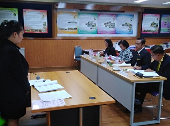 Thesis Layout Examination  Nipaporn Sangprathum