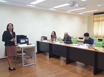 Thesis defense examination of Miss Kamonthip Sirisawat